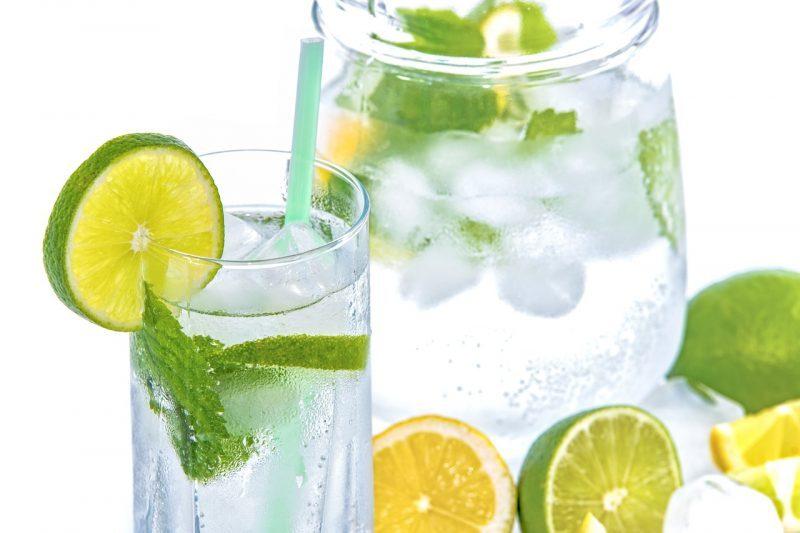 boisson rafraichissante citron