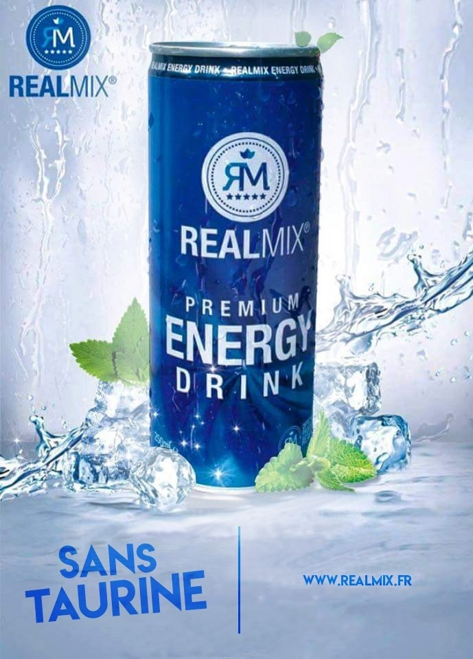boissons énergisantes sans taurine